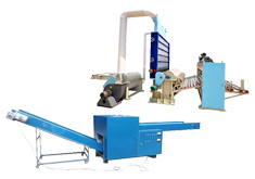 Textiles Waste Recycling Line