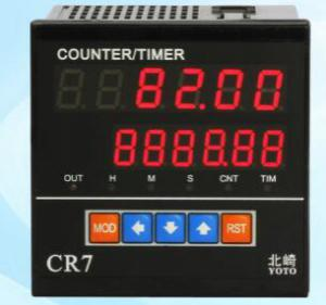 Photoelectric pulse counter